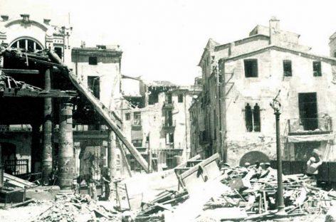 L'exposició de l'Arxiu Municipal recorda els 80 anys del bombardeig de Granollers