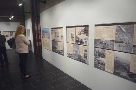 Dues exposicions enceten la commemoració del 80è aniversari del bombardeig del 1938 a Granollers