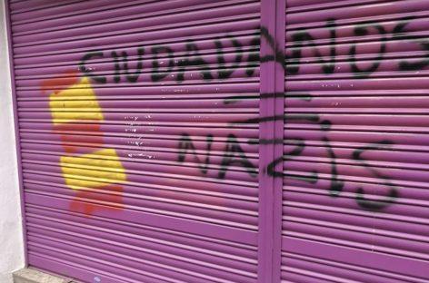 Ciutadans denuncia un nuevo ataque contra el comercio de la madre de Albert Rivera en Granollers