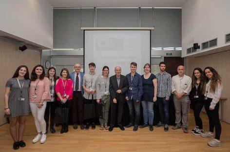 Un alumne de l'Institut Carles Vallbona de Granollers guanya el Premi PRBB al millor treball de recerca de batxillerat en ciències de la salut i de la vida