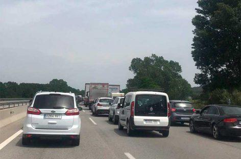 Un herido grave en un accidente de tráfico en la AP-7 en Valllgorguina
