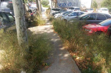Los vecinos de la Font Verda de Granollers denuncian el abandono del barrio
