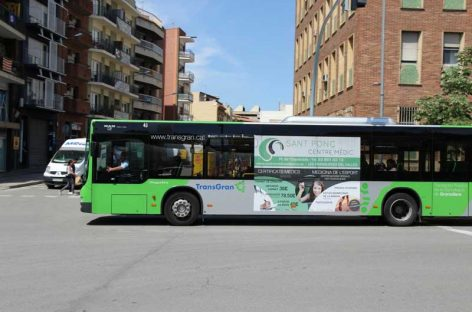 Rediseño de horarios y paradas en las líneas de autobuses de Granollers, Les Franqueses, Canovelles y La Roca