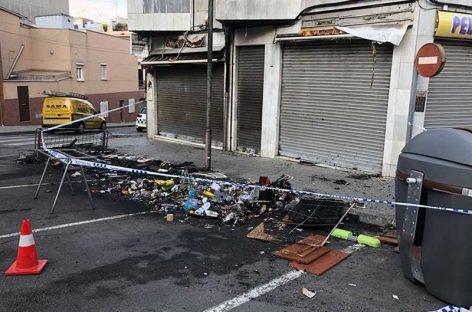 Les Franqueses pide colaboración ciudadana para encontrar a los autores de incendios de contenedores en Bellavista y Corró d'Avall