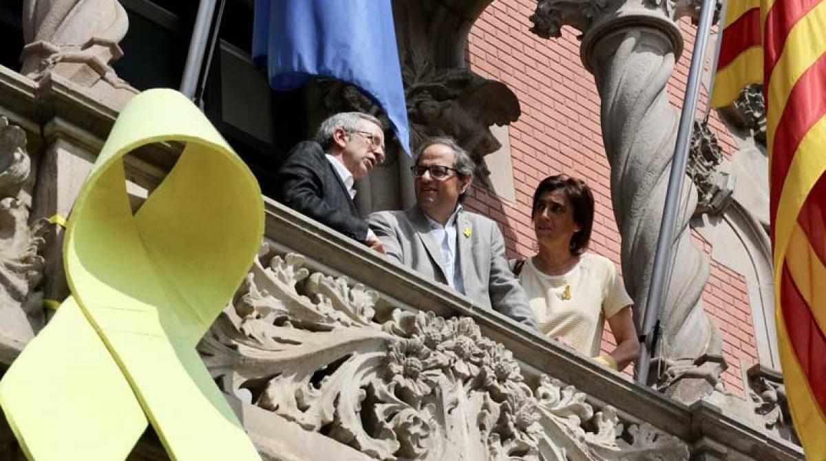 Granollers primera población gobernada por el PSC que recibe la visita institucional del president Quim Torra