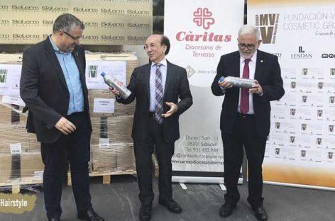 Donan 10.000 litros de champú para Cáritas Granollers y Mollet