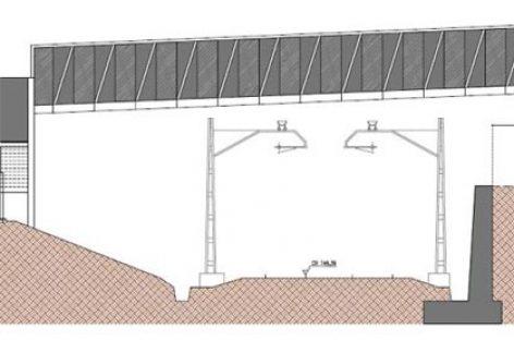 Empiezan las obras del nuevo puente peatonal para cruzar la vía del tren en Granollers
