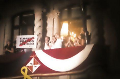 Pitadas independentistas al alcalde Mayoral en el pregón de la Fiesta Mayor de Granollers