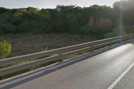 Restricciones de tráfico entre l'Ametlla y Llerona por obras en el puente