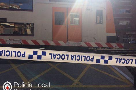 Un atropello mortal entre Montcada y Sant Andreu provoca retrasos en la R2