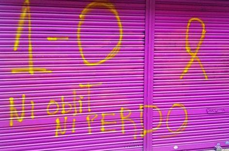 Nuevas pintadas intimidatorias contra el comercio de la madre de Albert Rivera en Granollers