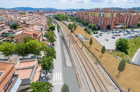 Un paso subterráneo para peatones y ciclistas unirá el barrio de Bellavista con Granollers
