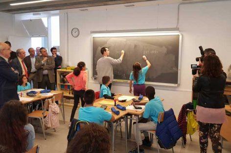Escuela Quatre Vents de Canovelles: inauguración tras 12 años de aulas prefabricadas