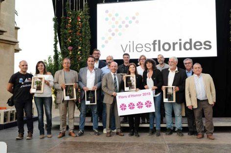 Cardedeu, Llinars del Vallès i Mollet del Vallès lideren el rànquing Flors d'Honor 2018