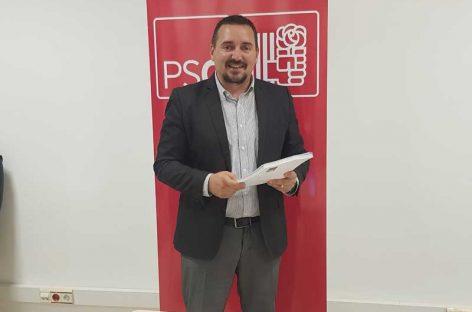 Juan Antonio Corchado repite como candidato del PSC en Les Franqueses