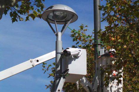 Empiezan a instalar las cámaras de control de matrículas en l'Ametlla
