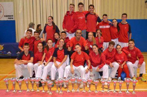 23 podis pel Karate Nokachi de Les Franqueses als Campionat de Catalunya a Montmeló