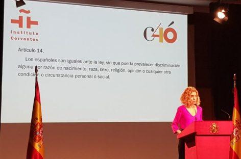 Mollet recuerda los 40 años de la Constitución Española con un acto con la ministra Batet