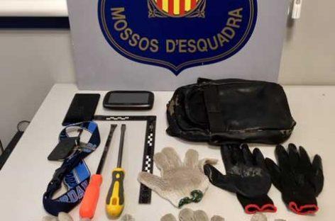 Tres detenidos más en relación con un robo de una vivienda en Sant Celoni