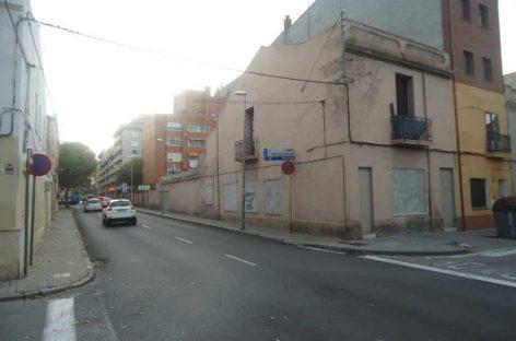 Granollers amplia la zona de vianants del carrer Foment