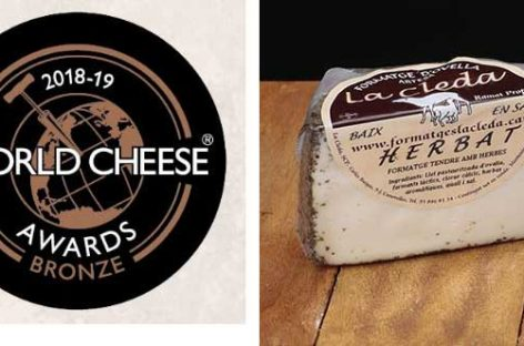 Un queso de La Cleda de Canovelles recibe el reconocimiento internacional