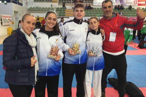 Sis medalles al Campionat d'Espanya pel Club Karate Nokachi de les Franqueses