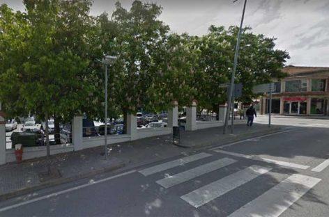 Un anciano atropellado en Sant Fost mientras cruzaba la B-500 por un paso de peatones