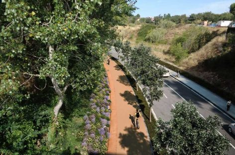 Presentan el proyecto para mejorar la entrada a Granollers desde Lliçà d'Amunt