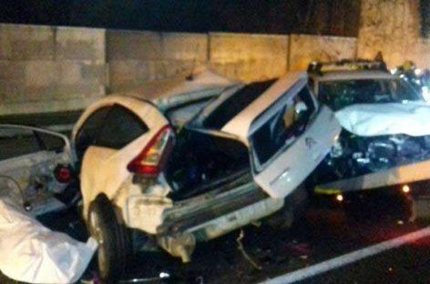 La mortalidad se disparó en las carreteras vallesanas en 2018 con 18 fallecidos