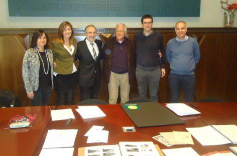 L'historiador Enric Garcia-Pey cedeix el seu fons documental a l'Arxiu municipal de Granollers