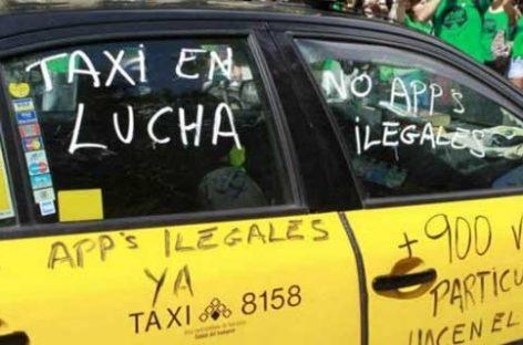 Los Taxis de Granollers se suman a la huelga del sector en Barcelona