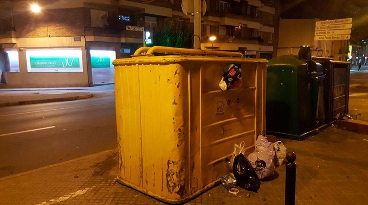 Desconvocada la huelga de basura y limpieza en Granollers