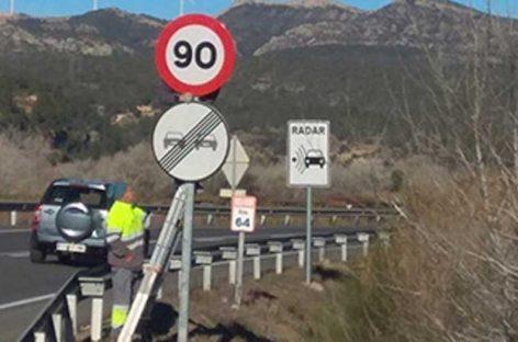 El límite de velocidad se reducirá próximamente en la C-35 y en la C-59