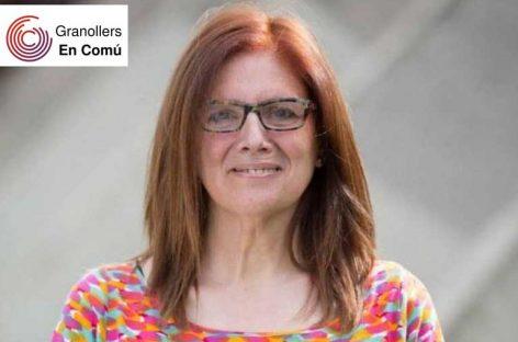 Araceli Orellana Aranda nova candidata a l'alcaldía de Granollers pels Comuns