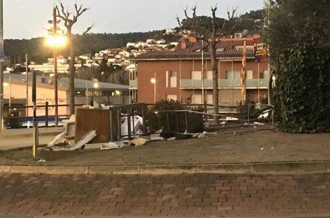Resistencia Vallès reivindica en un video el derribo del lazo amarillo de Bigues i Riells