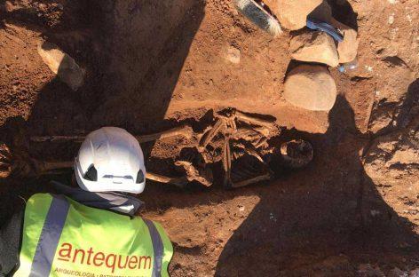 Localizan dos tumbas en las obras de la BV5003 en Montmeló