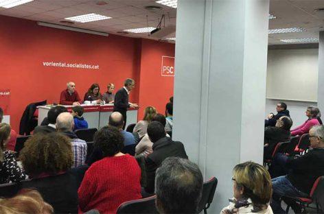 Apoyo unánime del PSC de Granollers para que Mayoral repita de candidato a la alcaldía