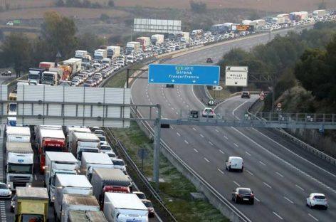 El radar de tramo de la AP-7, entre Santa Perpètua y Mollet, pone 90 multas cada día