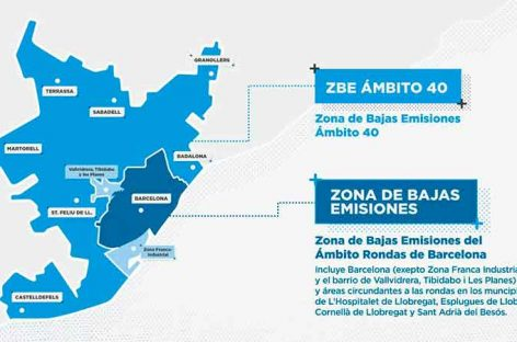 Activado en buena parte del Vallès el aviso preventivo por contaminación del aire