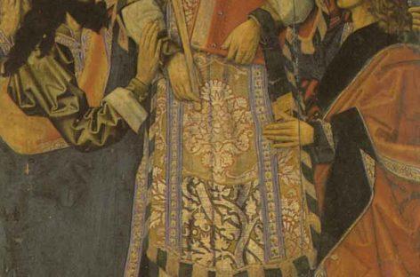 Retorn per la porta gran de Granollers del retaule gòtic de sant Esteve