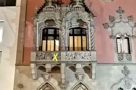 Ciutadans denuncia ante la Junta Electoral los símbolos políticos del Ayuntamiento de Granollers y otros 14 municipios del Vallès