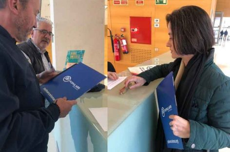 El PP pide  a la Junta Electoral la retirada de los lazos amarillos de los Ayuntamientos de Granollers, Cardedeu y La Roca