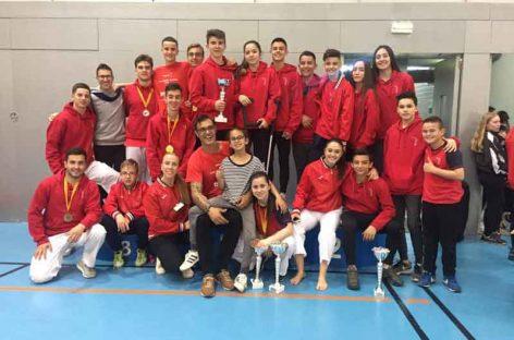 Nueve medallas para el Karate Nokachi de Les Franqueses en el Campeonato de Catalunya