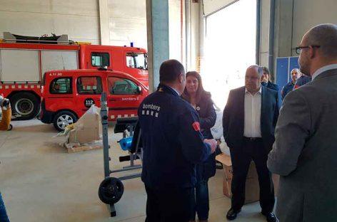 El nuevo parque de bomberos de La Garriga será operativo en pocas semanas