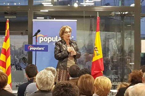 Susana Calvo, candidata por cuarta vez a la alcaldía de Mollet por el Partido Popular