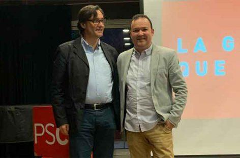 Alex Valiente repite como candidato a la alcaldía de la Garriga