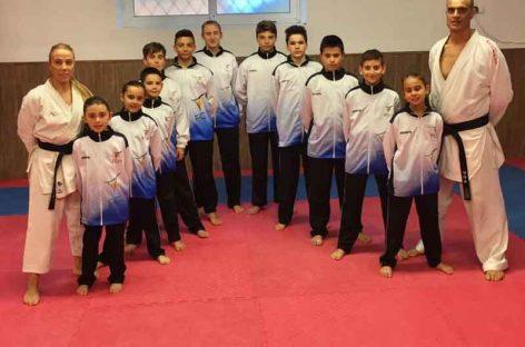 El club karate Nokachi Les Franqueses aporta 9 podios de los 13 de la selección catalana en los campeonatos de España