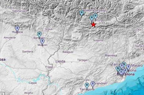 Un terremoto se ha dejado sentit en diversos puntos del Vallès
