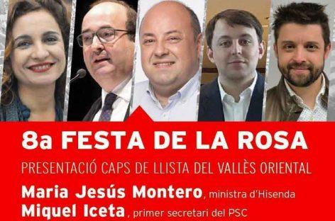 Los socialistas presentan en Montmeló sus cabezas de lista en el Vallès Oriental con la presencia de la Ministra Montero