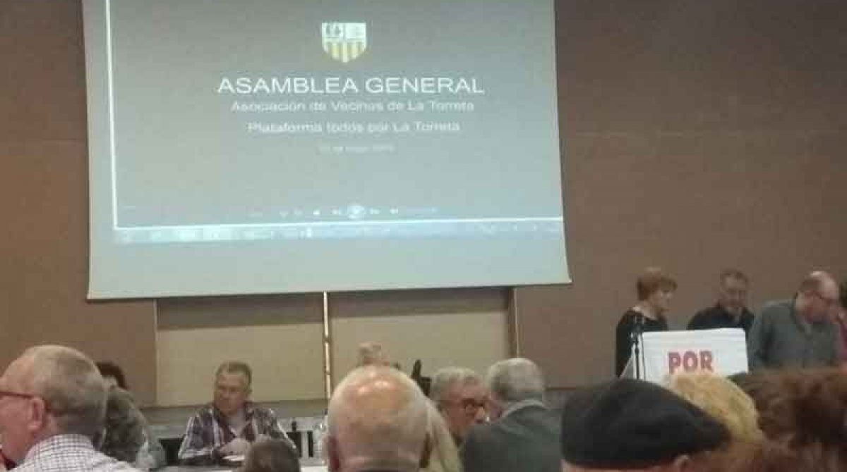 La Asamblea vecinal en La Torreta reivindica ser escuchada por el gobierno de la Roca